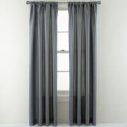 Studio™ Finley Rod-Pocket/Back-Tab Curtain Panel
