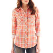 Levi's® Classic Plaid Western Shirt
