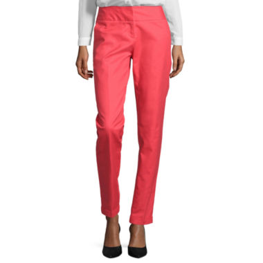 jcpenney.com | Worthington® Slim-Fit Ankle Pants