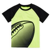 Okie Dokie® Raglan Sport Tee - Toddler Boys 2t-5t
