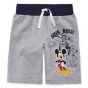 Disney Apparel by Okie Dokie® French Terry Shorts - Toddler Boys 2t-5t