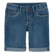 Arizona Denim Bermuda Shorts - Preschool Girls 4-6x