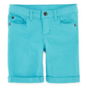 Arizona Colored Bermuda Shorts - Preschool Girls 4-6x