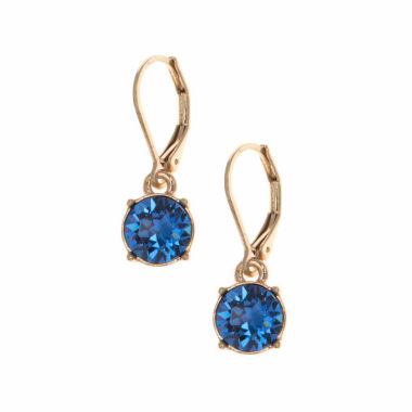 jcpenney.com | Gloria Vanderbilt Blue Drop Earrings
