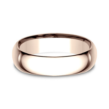 jcpenney.com | Mens 6.5mm 14K Rose Gold Wedding Band