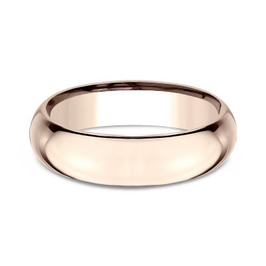 jcpenney.com | Mens 6mm 14K Rose Gold Wedding Band