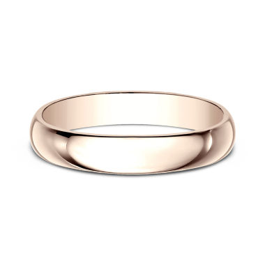 jcpenney.com | Womens 4mm 14K Rose Gold Wedding Band