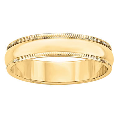 jcpenney.com | Personalized Womens 14K Gold Wedding Band