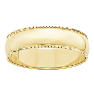 jcpenney.com | Mens 10K Gold Wedding Band