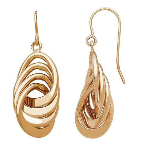 Limited Quantities! 14K Gold Drop Earrings
