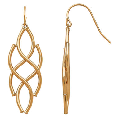 jcpenney.com | Limited Quantities! 14K Gold Drop Earrings