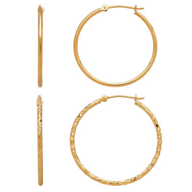 jcpenney.com | Limited Quantities! 2-pc. 10K Gold Earring Sets