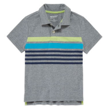 jcpenney.com | Arizona Short Sleeve Solid Pique Polo Shirt