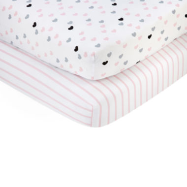 jcpenney.com | Nojo 2-pc. Crib Sheet
