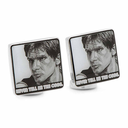 Star Wars™ Hans Solo Never Tell Me The Odds Cuff Links