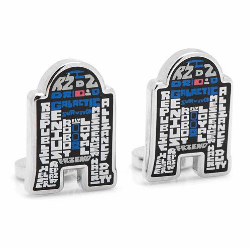 Star Wars™ R2D2 Typography Cuff Links