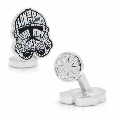jcpenney.com | Star Wars® Clone Trooper Typography Cuff Links