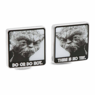 jcpenney.com | Star Wars™ Yoda Do Or Do Not There Is No Try Cuff Links