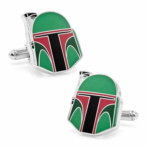 Star Wars® Boba Fett Helmet Cuff Links