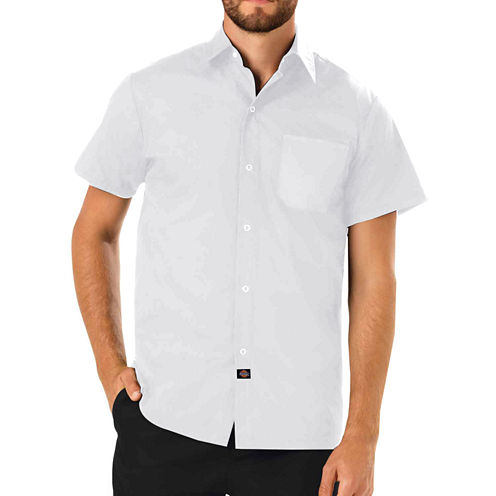 Dickies Unisex Short Sleeve Chef Coat - Big