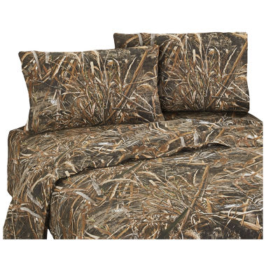 jcpenney.com | Realtree Realtree Max 5 Sheet Set Full Cotton/Polyster Sheet Set