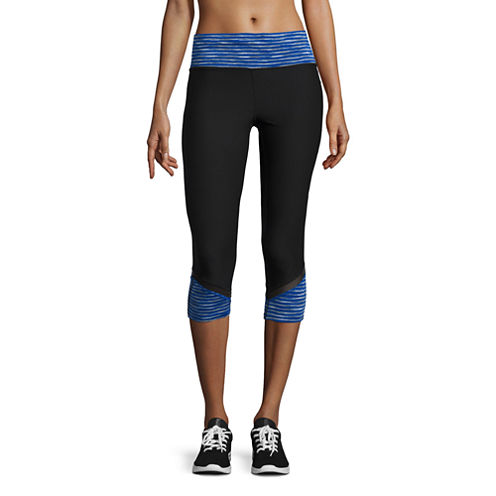 Xersion™ Colorblock Mesh Capri
