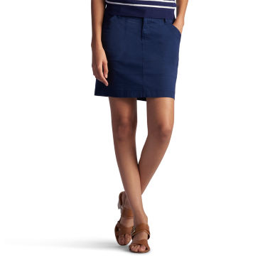 jcpenney.com | Lee® Solid Twill Skorts