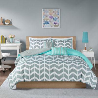 Intelligent Design Laila Comforter Set Jcpenney Color Teal