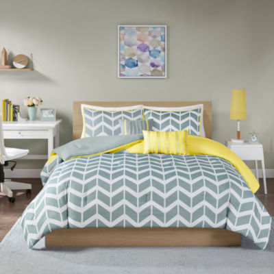 you piece sets bath set comforter bed love chevron muldowney ll bedding