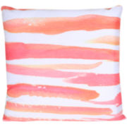 JCPenney Home Watercolor Stripes Decorative Pillow