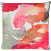 JCPenney Home Watercolor Abstract Decorative Pillow