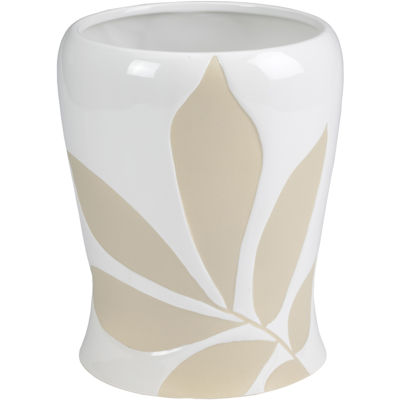 Creative Bath™ Shadow Leaves Wastebasket