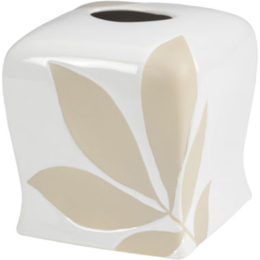 jcpenney.com | Creative Bath™ Shadow Leaves Tissue Holder