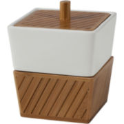 Creative Bath Spa Bamboo Bath Jar