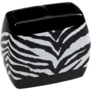 Creative Bath™ Zebra Toothbrush Holder