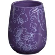 Creative Bath™ Fine Lines Ceramic Tumbler