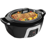 Hamilton Beach® 6-qt. Programmable Cool Touch Slow Cooker
