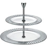Diva 2-Tiered Serving Platter