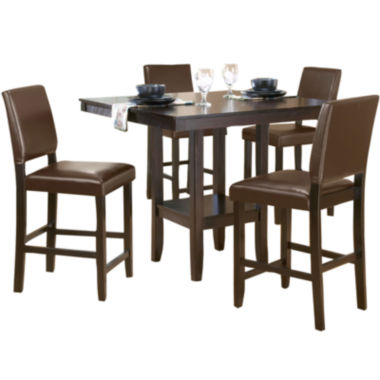 jcpenney.com | Arcadia 5-pc. Dining Set with Parson Stools