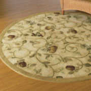 Wonderfruit Washable Rectangular Rug