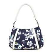 Liz Claiborne® City Top Zip Shoulder Bag