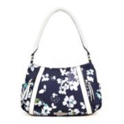 Liz Claiborne® City Top Zip Shoulder Bag