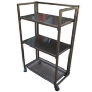 Outdoor Oasis™ Foldable Rolling Service Rack