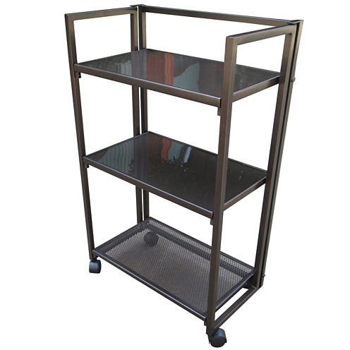 Oasis Outdoor Newberry Foldable Service Cart