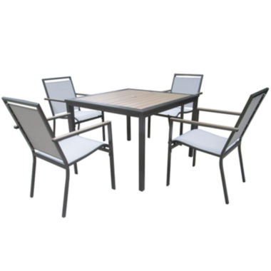 jcpenney.com | Outdoor Oasis™ Hardwick 5-pc. Outdoor Dining Set