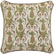 "Croscill Classics® Bay Breeze 18"" Square Decorative Pillow"