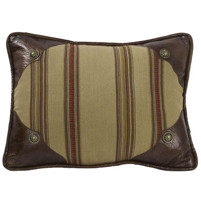 HiEnd Accents Ruidoso Striped Oblong Decorative Pillow