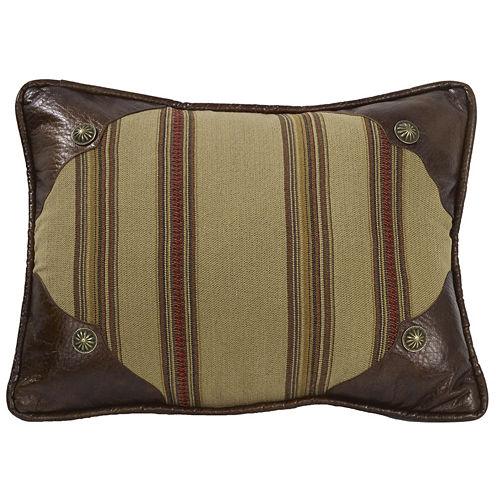 HiEnd Accents Ruidoso Striped Oblong Decorative Pillow