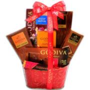 Alder Creek Godiva Chocolate Devotion Basket