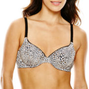 Ambrielle® Cotton-Blend Demi Bra